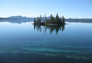 Waldo Lake, the place where Jim Gordon drowned